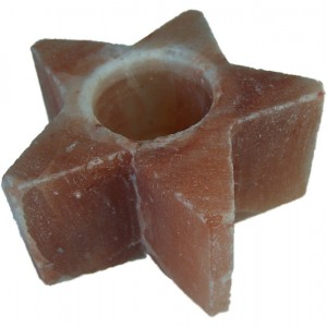 Star Shaped Himalayan Candle Holder-700g