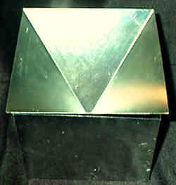 Pyramid candle moulds,metal moulds
