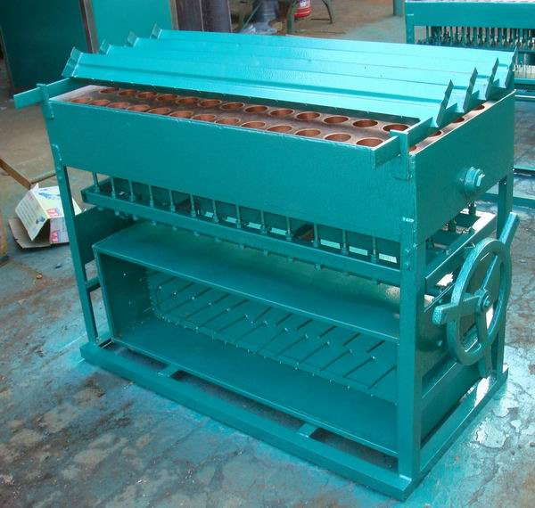 church candle making machine, 56 moulds for candle dia57mm