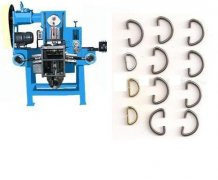 D ring making machine for garment adornament production