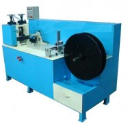 Metal wire knurling machine